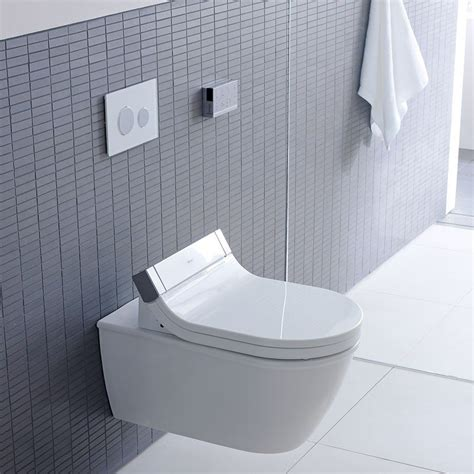 Duravit Bidet by Duravit Sensowash Bidet Shower Toilet Seat Just Bathroomware
