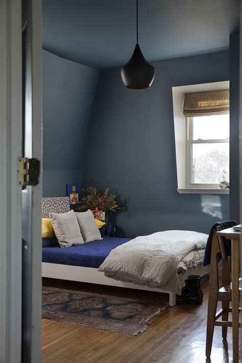 blue painted bedrooms kitchen project blue black white and brass desire to