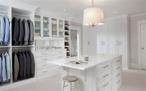 white painted maple wood walk in closet dressing room westchester county ny contemporary
