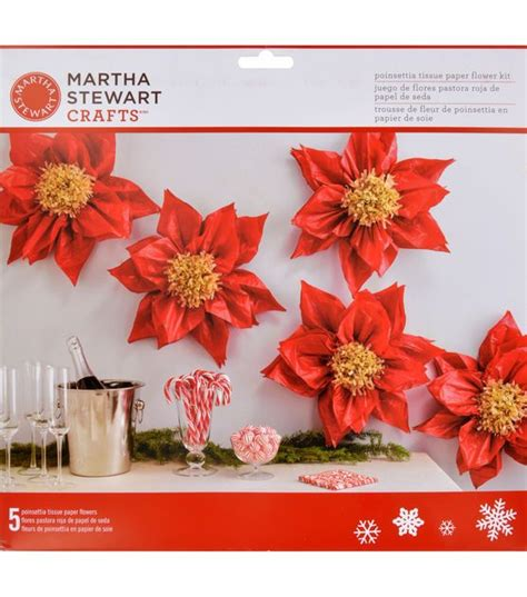 Martha Stewart Crafts Paper Flowers - martha stewart crafts lodge tissue paper flower