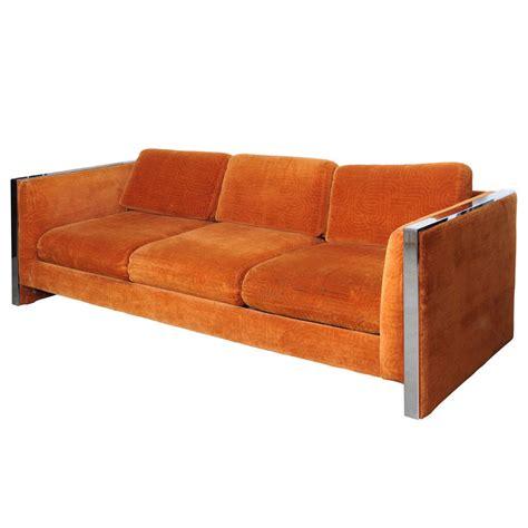 baughman sofa milo baughman sofa at 1stdibs