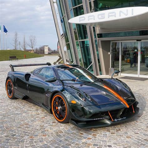 who owns pagani green and orange pagani huayra bc is from another planet