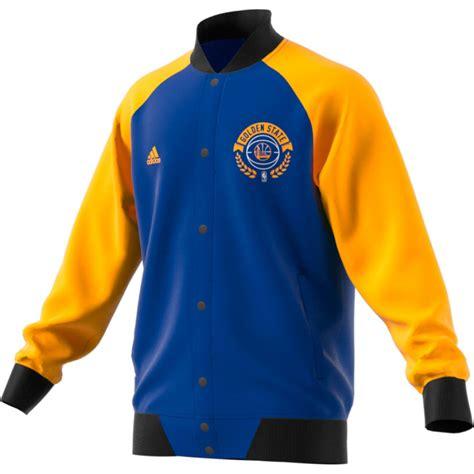 Jaket Hoodie Basket Nba Golden State Warriors adidas golden state warriors baseball jacket 2win se