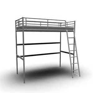 troms 214 loft bed frame design and decorate your room in 3d