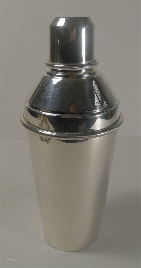 art deco shaker antiques atlas art deco cocktail shaker integral lemon