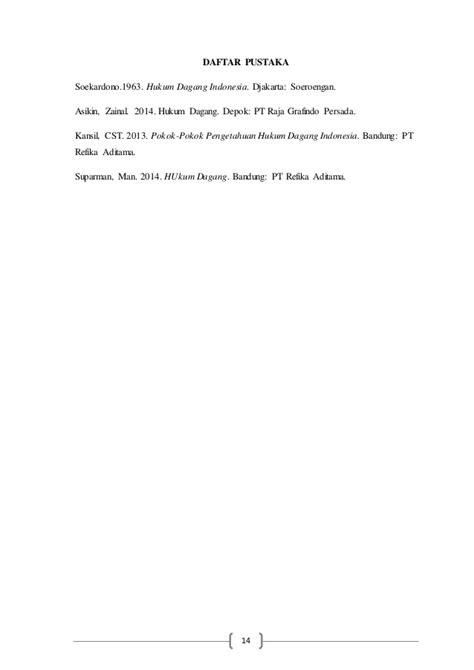 Pengertian Pokok Hukum Dagang Indonesia Jilid 1 materi hukum dagang