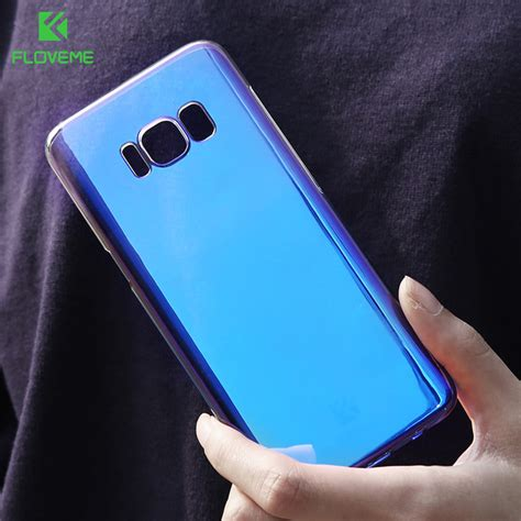 Anti Gores Limited Samsung Galaxy S8 Plus Cover floveme for samsung galaxy note 8 blue gradient color for samsung galaxy s8 s8 plus