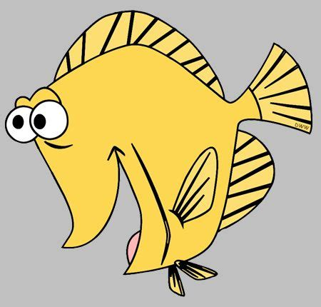 yellow tang coloring page bubble the yellow tang fish finding nemo pinterest