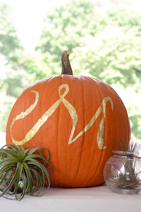 quick  easy decorated pumpkins hgtv