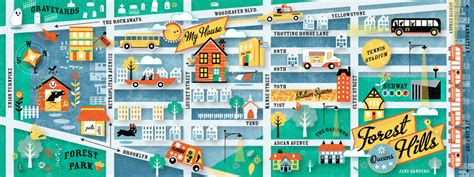 map of my house my house in forest hills queens new york by jane sanders