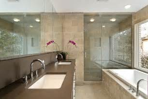 Decorating Ideas For Master Bathrooms by Bathroom Design With Bathtub Home Decorating