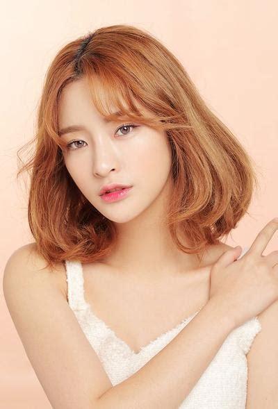 model rambut d bawah bahu ini dia 5 model rambut bob korea yang bisa membuatmu