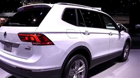 volkswagen tiguan white 2018 2018 volkswagen tiguan allspace pearl white exterior and