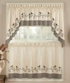 bird kitchen curtains chf birds kitchen curtain window treatments