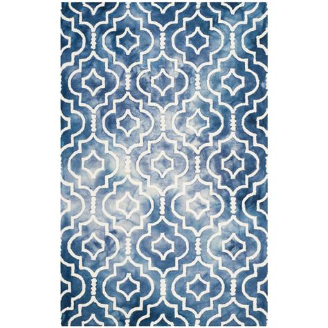 can you dye an area rug safavieh dip dye navy ivory 6 ft x 9 ft area rug ddy538n 6 the home depot