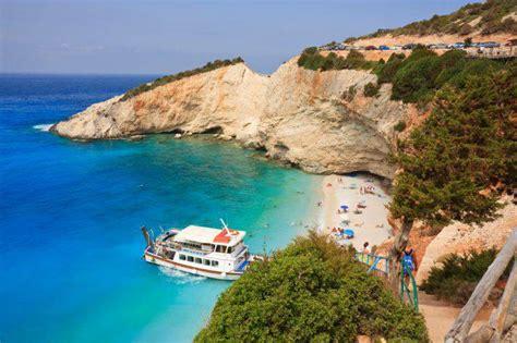 porto della grecia isole della grecia la guida di lefkada nel mar ionio