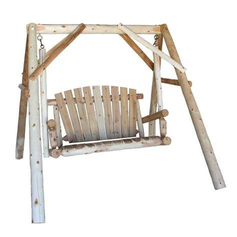 swing frames lakeland mills 4 ft patio yard swing with a frame cfu18