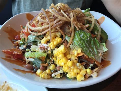 yard house salads salad all mixed together picture of yard house san jose tripadvisor