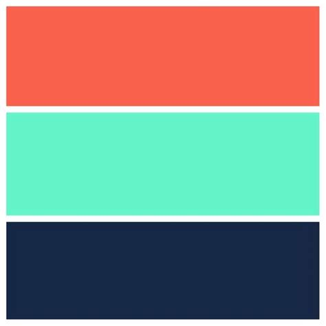 color schemes with navy teal navy and coral color scheme for the home