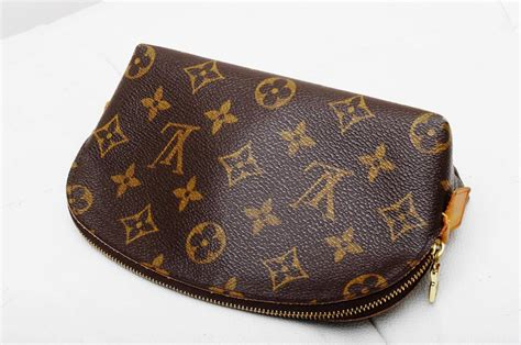 authentic louis vuitton monogram pm   cosmetic