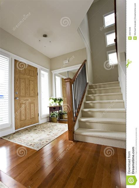 Bungalow Home Interiors by House Front Hall Entrance Royalty Free Stock Images