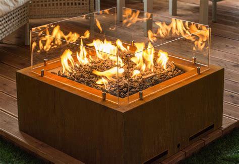indoor smokeless corten steel large propane fire pit buy