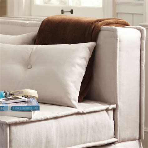 sofa teen cushy sleeper sofa 47 25 quot pbteen