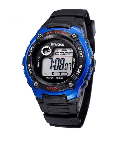 muxyn blue stylish digital watches for price in india