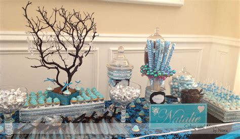 party themes with blue masquerade sweet 16 cakes and more by nora
