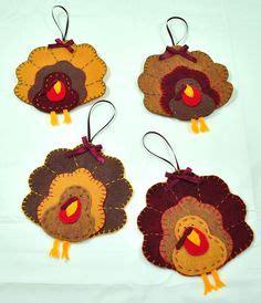 set of 6pcs handmade felt turkey chocolate pumpkin ft933 turkey handmade felt and set of