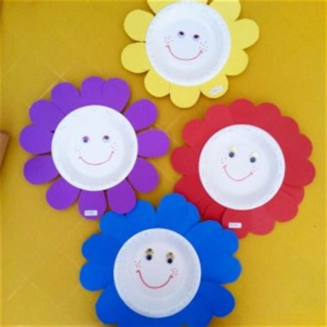 Paper Flower Craft For Preschoolers - flower craft idea for crafts and worksheets for