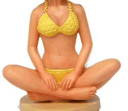 bobblehead gif maker meditating custom bobblehead doll