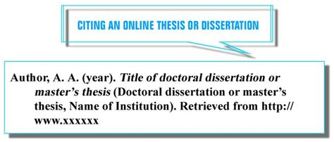 how to cite dissertation best 25 apa style reference ideas on apa