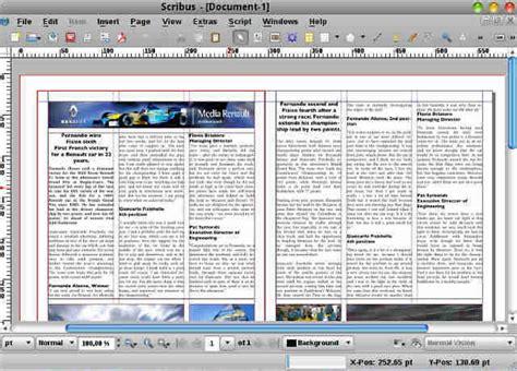 scribus templates scribus скачать бесплатно софт