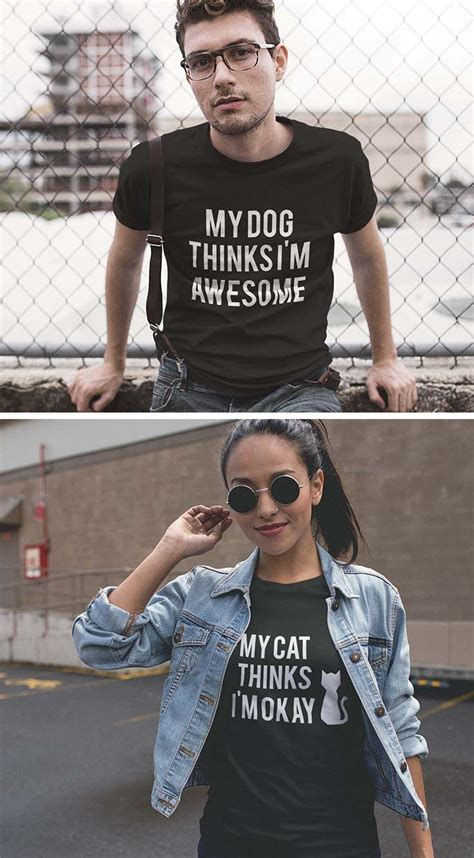 My Cat Thinks I M Awesome best 25 cat shirts ideas on cat shirts
