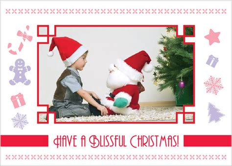 3 beautiful photo christmas cards design templates 2012