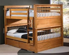 Double bunk beds top and bottom home design ideas