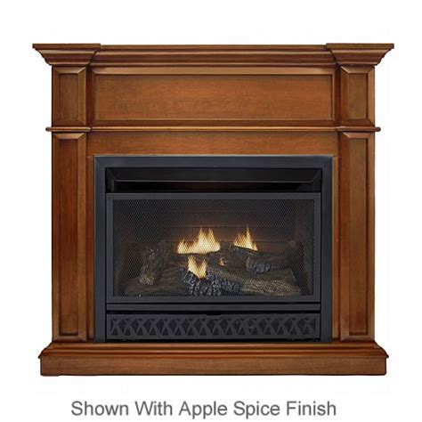 procom complete ventless gas fireplace system s gas