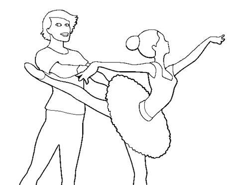 dibujos para colorear zapatillas de ballet dibujo de barbie bailando ballet para colorear dibujos net