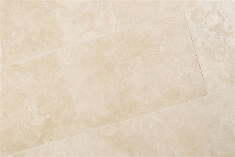 ivory travertine filled and honed floor tiles travertine