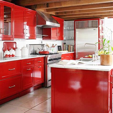 kitchen cabinets red beautifully colorful painted kitchen cabinets