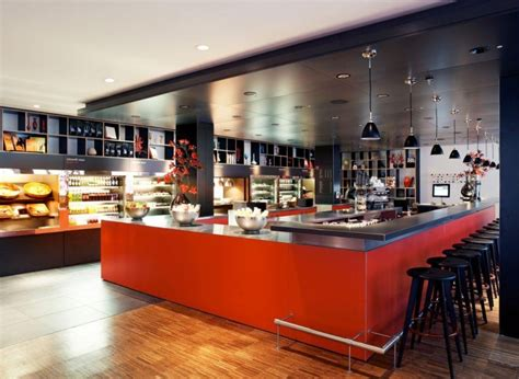 cafe design glasgow citizenm hotel by concrete architectural associates