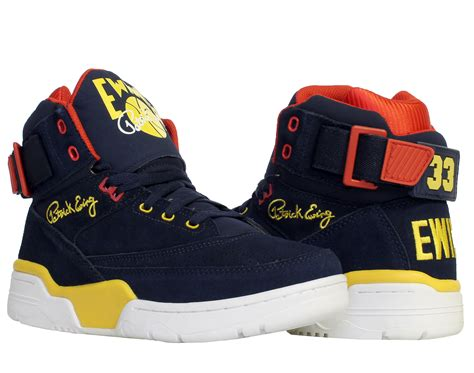 ewing shoes for ewing athletics ewing 33 hi navy yellow s