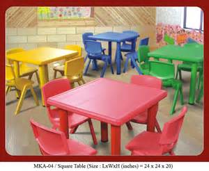 play school furniture square table from mykidsarena