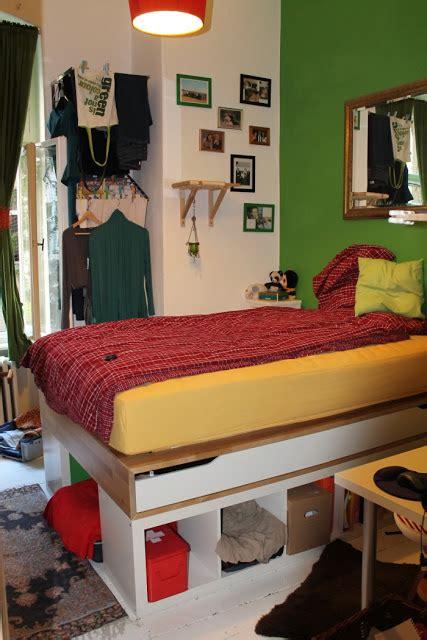 ikea mandal bed hack very hacky in berlin 10m 178 full of storage get home