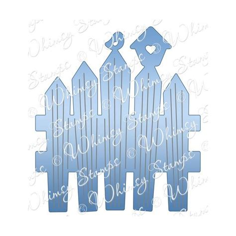 Whimsy Picket Fence Whimsy Sts And Shapeology Dies Raindrop Echo Picket