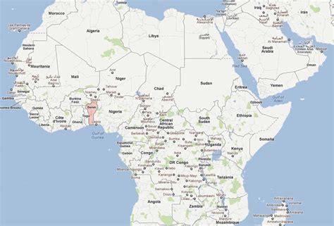 africa map benin benin map and benin satellite images