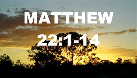 Wedding Feast Bible Matthew 22 1 14 Wedding Feast Parable