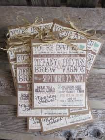 rustic wedding invitations this could be a great diy project keywords