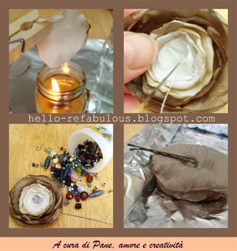 come fare i fiori con la stoffa fiori tra i capelli 183 pane e creativit 224